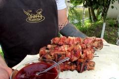 День Рожденья на берегу озера - кейтринг компания «Yaris Catering» 05