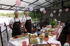День Рожденья на берегу озера - кейтринг компания «Yaris Catering» 08