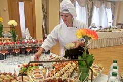 Фуршет в честь юбилея - мудрое решение - кейтринг компания «Yaris Catering» 09