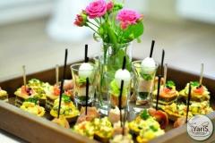 Кофе-брейк с закусками для семинара от выездного кейтеринг ресторана «Yaris Catering»01