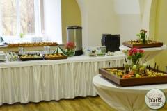 Кофе-брейк с закусками для семинара от выездного кейтеринг ресторана «Yaris Catering»03