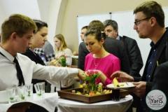 Кофе-брейк с закусками для семинара от выездного кейтеринг ресторана «Yaris Catering»05