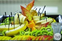 Кофе-брейк с закусками для семинара от выездного кейтеринг ресторана «Yaris Catering»09