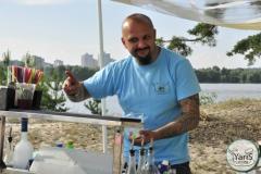 Корпоратив на острове для компании «Ten Group» от выездного кейтеринг ресторана «Yaris Catering»07
