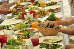Корпоратив на острове для компании «Ten Group» от выездного кейтеринг ресторана «Yaris Catering»08