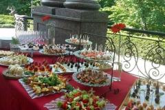 Приветственный фуршет в Межигорье - кейтринг компания «Yaris Catering» 01