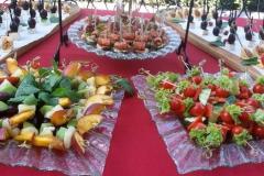 Приветственный фуршет в Межигорье - кейтринг компания «Yaris Catering» 02