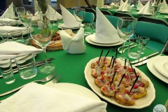 Продолжние свадьбы может быть красочным - кейтринг компания «Yaris Catering» 08