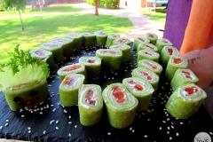 Солнечный пикник на детском дне рождения - кейтринг компания «Yaris Catering» 01