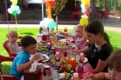 Солнечный пикник на детском дне рождения - кейтринг компания «Yaris Catering» 05