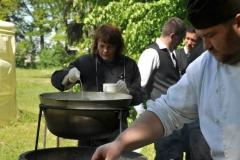 В честь наших ветеранов - «Полевая кухня» от выездного кейтеринг ресторана «Yaris Catering» 13
