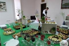 Весенний фуршет За прекрасных дам! от выездного кейтринг ресторана «Yaris Catering» 01