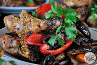 Банкет - блюда - выездной кейтеринг ресторан «Yaris Catering» 07