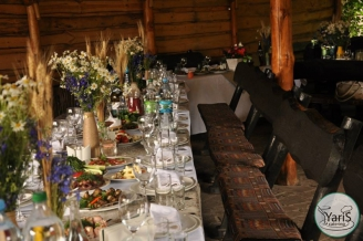 Банкет - блюда - выездной кейтеринг ресторан «Yaris Catering» 09
