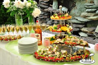 Фуршет - блюда - выездной кейтеринг ресторан «Yaris Catering» 01