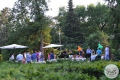 День Рожденья в Ботаническом Саду от выездного кейтеринг ресторана «Yaris Catering»06