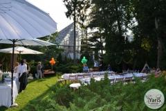 День Рожденья в Ботаническом Саду от выездного кейтеринг ресторана «Yaris Catering»07