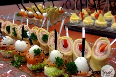 Фуршет после конференции от выездного кейтеринг ресторана «Yaris Catering» 05