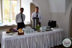 Кофе-брейк с закусками для семинара от выездного кейтеринг ресторана «Yaris Catering»04