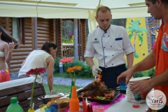 Корпоративные «Гаваи» - яркий праздник вкуса от кейтеринг ресторана «Yaris Catering»17