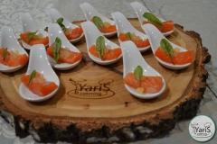 Новогодний корпоратив от выездного кейтеринг ресторана «Yaris Catering»10