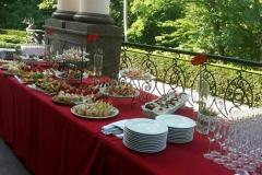 Приветственный фуршет в Межигорье - кейтринг компания «Yaris Catering» 03