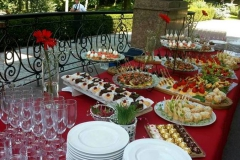 Приветственный фуршет в Межигорье - кейтринг компания «Yaris Catering» 05