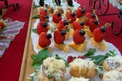 Приветственный фуршет в Межигорье - кейтринг компания «Yaris Catering» 08
