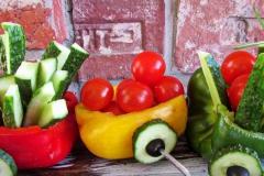 Солнечный пикник на детском дне рождения - кейтринг компания «Yaris Catering» 09