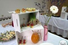 Весенний фуршет За прекрасных дам! от выездного кейтринг ресторана «Yaris Catering» 04